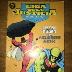Cómics: LIGA DE LA JUSTICIA POSEIDO POR EL PODER DEL HOMBRE GRIS NÚMERO 6. Lote 141146600