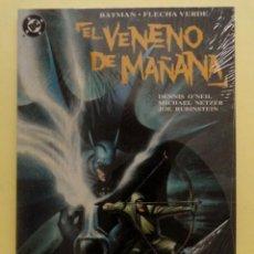 Cómics: BATMAN / FLECHA VERDE: EL VENENO DE MAÑANA. ZINCO. TOMO PRESTIGIO. 1993. Lote 141169190
