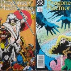 Cómics: DRAGONES Y MAZMORRAS 1,2,3,4. Lote 141434186