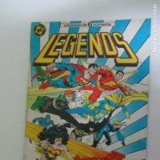 Comics : LEGENDS - Nº 6 DE 6 - ED. ZINCO 1987 C12. Lote 224736598