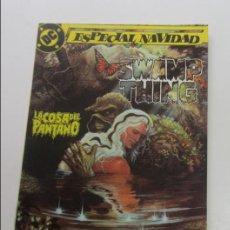 Cómics: LA COSA DEL PANTANO ESPECIAL 1 NAVIDAD ZINCO 1991 E10. Lote 141483290