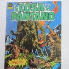 Cómics: SWAMP THING LA COSA DEL PANTANO VOL. I Nº 1. ZINCO, 1984 E10. Lote 141484730
