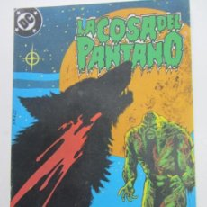 Cómics: SWAMP THING LA COSA DEL PANTANO VOL. 3 Nº 5 ( MOORE BISSETTE ) AMERIAN GOTHIC ZINCO 1988 E10. Lote 141485426