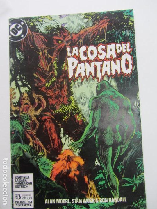 SWAMP THING LA COSA DEL PANTANO VOL. 3 Nº 10 ( MOORE BISSETTE ) AMERIAN GOTHIC ZINCO 1988 E10 (Tebeos y Comics - Zinco - Cosa del Pantano)