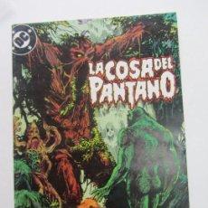 Cómics: SWAMP THING LA COSA DEL PANTANO VOL. 3 Nº 10 ( MOORE BISSETTE ) AMERIAN GOTHIC ZINCO 1988 E10. Lote 141485650