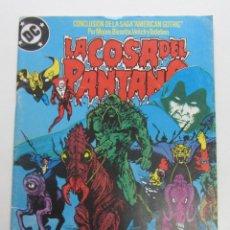 Comics: SWAMP THING LA COSA DEL PANTANO VOL. 3 Nº 12 ( MOORE BISSETTE ) AMERIAN GOTHIC ZINCO 1988 E10. Lote 141485786