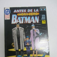 Cómics: BATMAN - ANTES DE LA HORA CERO POR CHUCK DIXON, GRUMMETT, MOENCH, MANLEY, NOLAN-ZINCO(1995) - E5. Lote 141489830