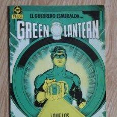 Cómics: GREEN LANTERN EL GUERRERO ESMERALDA EDICIONES ZINCO NUM 1 QUE LOS MALVADOS TIEMBLEN ANTE LUZ 1986. Lote 141561586