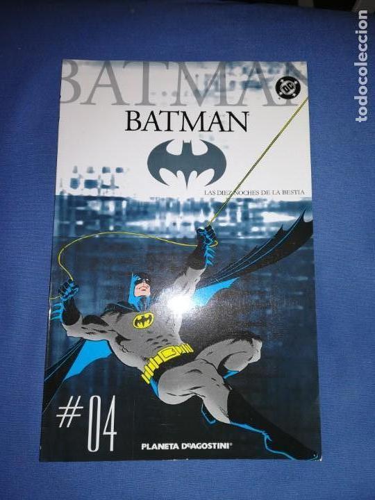 BATMAN COLECCIONABLE PLANETA DE AGOSTINI 2005. NÚMERO 4 LAS DIEZ NOCHES DE LA BESTIA (Tebeos y Comics - Zinco - Batman)