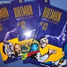 Cómics: BATMAN LA SAGA DE RA´S AL GHUL. DC COMICS TAPA DURA . PLANETA DE AGOSTINI. 2005. NUMEROS 1, 2 Y 3. Lote 141574198