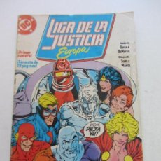 Comics: LIGA DE LA JUSTICIA EUROPA VOL.I Nº 1 (ZINCO,1989) KEITH GIFFEN BART SEARS C18. Lote 141585258