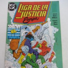 Cómics: LIGA DE LA JUSTICIA EUROPA VOL.I Nº 2 (ZINCO,1989) KEITH GIFFEN BART SEARS C18. Lote 141585338