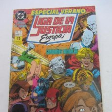 Cómics: LIGA DE LA JUSTICIA EUROPA. Nº 1. ESPECIAL VERANO KEITH GIFFEN C18. Lote 141585978