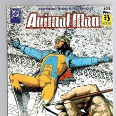 Cómics: ANIMAL MAN. MORRISON - TRUOG & HAZLEWOOD. NUMEROS 6 AL 10 DE LA COLECCION.. Lote 141664848