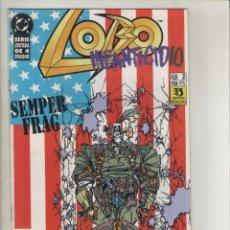 Comics : LOBO-DC-ZINCO-SERIE DE 4Nº-AÑO 1992-COLOR-INFANTICIDIO-FORMATO GRAPA-Nº 2. Lote 141687574