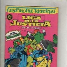 Cómics: LA LIGA DE LA JUSTICIA-DC-ZINCO-AÑO 1987-COLOR-FORMATO GRAPA-Nº 1-GUERRA DE GERMENES. Lote 141689722