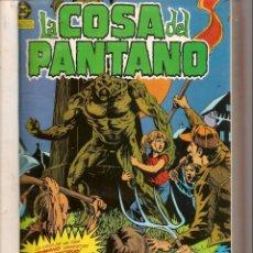 Cómics: LA COSA DEL PANTANO. 10 NROS. ¡¡COLECCIÓN COMPLETA!!. DC / ZINCO 1984 (RF.MA)B/30. Lote 141695366