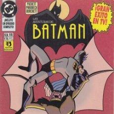 Cómics: BATMAN ADVENTURES - BATMAN ANIMATED SERIES - Nº 11 EDICION ESPAÑOLA ZINCO. Lote 141705578