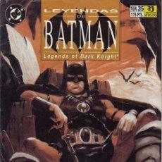Cómics: LEYENDAS BATMAN Nº 35 - DC ZINCO - DESTINY. Lote 141708318
