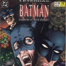 Cómics: LEYENDAS BATMAN Nº 38 - DC ZINCO - MASK. Lote 141708410