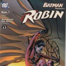 Cómics: BATMAN PRESENTA Nº 2 - ROBIN Nº 1 - DC PLANETA DEAGOSTINI. Lote 141709242