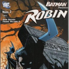 Cómics: BATMAN PRESENTA Nº 5 - ROBIN Nº 2 - DC PLANETA DEAGOSTINI. Lote 141709330