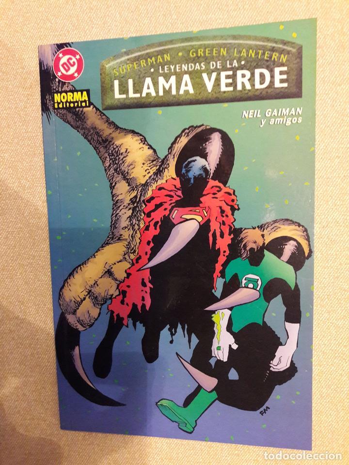LEYENDAS DE LA LLAMA VERDE. SUPERMAN/GREEN LANTERN, NEIL GAIMAN (Tebeos y Comics - Zinco - Prestiges y Tomos)