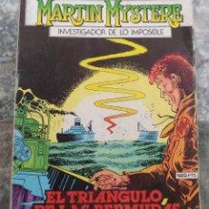 Cómics: MARTIN MYSTERE N.º 9 EL TRIANGULO DE LAS BERMUDAS ED. ZINCO 1983 . Lote 141725046