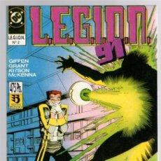 Cómics: LEGION 91. Nº 2. CONTIENE LOS NUM. 6 AL 10 DE LA COLECCION. ZINCO, 1991. Lote 141778492