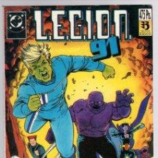 Comics: LEGION 91. CONTIENE LOS NUM. 1 AL 5 DE LA COLECCION. ZINCO, 1991. Lote 141778785