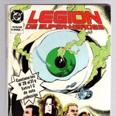 Cómics: LEGION DE SUPER HEROES. CONTIENE LOS NUM. 29 AL 31 Y EXTRA 1-2. Nº 6. LEVITZ - GIFFEN Y GORDON. 1987. Lote 141911898