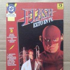Cómics: FLASH: ÉXITO EN TV (EDICIONES ZINCO, 1993). INCLUYE FLASH TV SPECIAL USA. ESPECIAL 68 PÁGINAS.. Lote 142076772