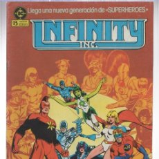 Comics: INFINITY INC. Nº 1. ZINCO, AÑO 1986. Lote 142183848
