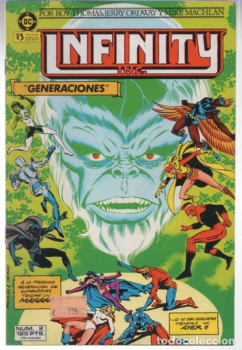 INFINITY INC. Nº 2. GENERACIONES. ZINCO, AÑO 1986 (Tebeos y Comics - Zinco - Infinity Inc)