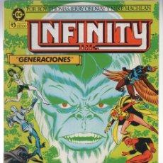 Cómics: INFINITY INC. Nº 2. GENERACIONES. ZINCO, AÑO 1986. Lote 142184782