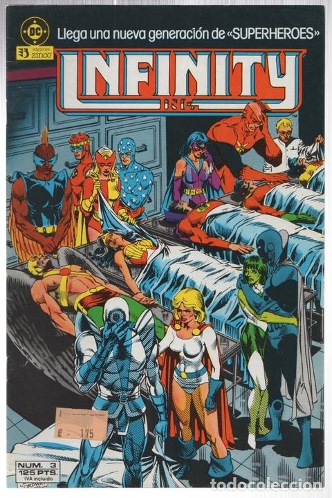 INFINITY INC. Nº 3. ZINCO, AÑO 1986 (Tebeos y Comics - Zinco - Infinity Inc)