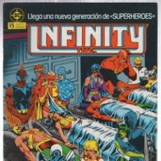Comics: INFINITY INC. Nº 3. ZINCO, AÑO 1986. Lote 142184937