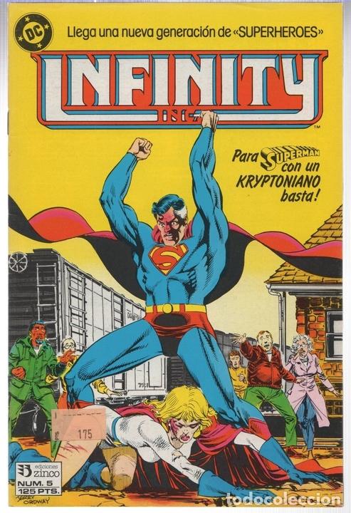 INFINITY INC. Nº 5. ZINCO, AÑO 1986 (Tebeos y Comics - Zinco - Infinity Inc)