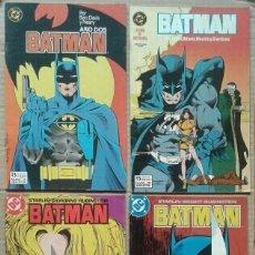 Cómics: LOTE BATMAN: NÚMEROS 4-19-29-30-32 (EDICIONES ZINCO, 1987-1998). 28/36 PÁGINAS A COLOR CADA EJEMPLAR. Lote 142314777