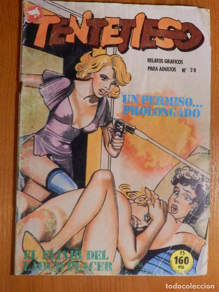 COMIC - ERÓTICO PARA ADULTOS - TENTETIESO - Nº 20 - UN PERMISO PROOLONGADO - ZINCO (Tebeos y Comics - Zinco - Otros)