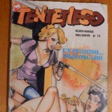 Cómics: COMIC - ERÓTICO PARA ADULTOS - TENTETIESO - Nº 20 - UN PERMISO PROOLONGADO - ZINCO. Lote 142629106