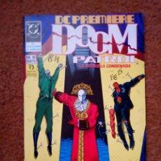 Cómics: DC PREMIERE Nº 16. DOOM PATROL, DE GRANT MORRISON Y RICHARD CASE. EL COLECCIONISTA DE MARIPOSAS. Lote 142764634
