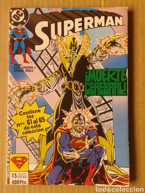 RETAPADO SUPERMAN N°21: NÚMEROS 61-62-63-64-65 (EDICIONES ZINCO, 1989-1990). (Tebeos y Comics - Zinco - Retapados)