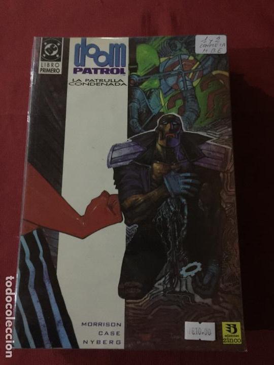 DOOM PATROL LA PATRULLA CONDENADA TOMO 1 Y 2 COMPLETA MUY BUEN ESTADO REF.787 (Tebeos y Comics - Zinco - Patrulla Condenada)