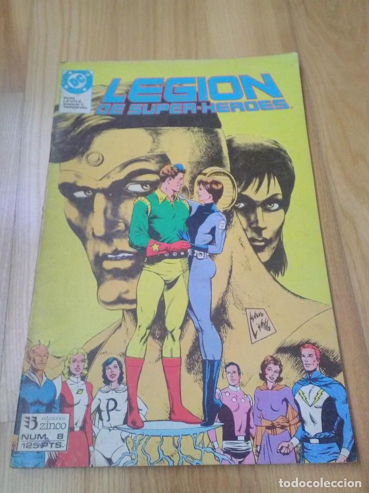 COMIC DC ZINCO LA LEGION DE SUPER HEROES Nº 8 (Tebeos y Comics - Zinco - Legión 91)