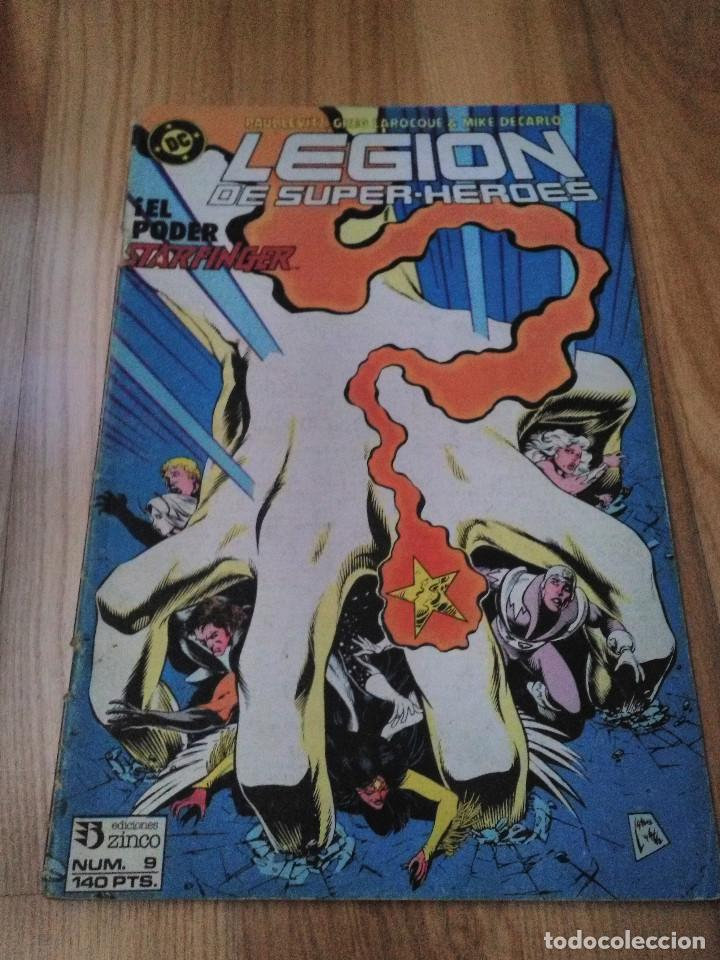 COMIC DC ZINCO LA LEGION DE SUPER HEROES Nº 9 (Tebeos y Comics - Zinco - Legión 91)