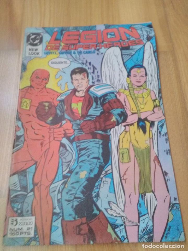 COMIC DC ZINCO LA LEGION DE SUPER HEROES Nº 21 (Tebeos y Comics - Zinco - Legión 91)