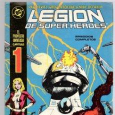 Cómics: LEGION DE SUPER HEROES. Nº 1. ZINCO, AÑO 1987. Lote 143163136