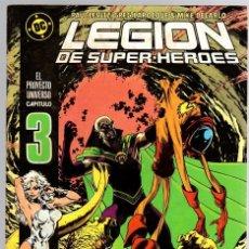 Cómics: LEGION DE SUPER HEROES. Nº 3. ZINCO, AÑO 1987. Lote 143163570