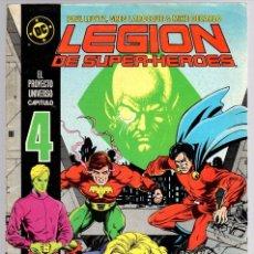 Cómics: LEGION DE SUPER HEROES. Nº 4. ZINCO, AÑO 1987. Lote 143163714